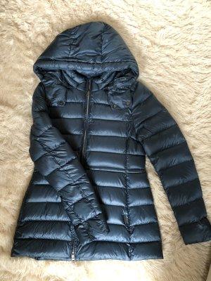Woolrich Manteau à capuche bleu acier-bleu