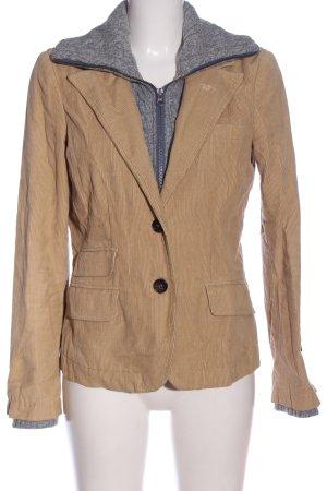 Woolrich Blazer corto blanco puro-gris claro look casual