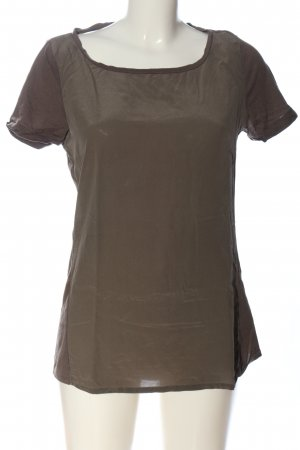 Woolrich Kurzarm-Bluse grün Casual-Look