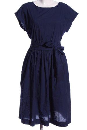 Woolrich Vestido de manga corta azul elegante