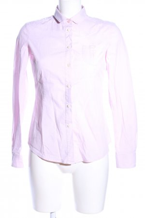 Woolrich Langarm-Bluse pink Business-Look