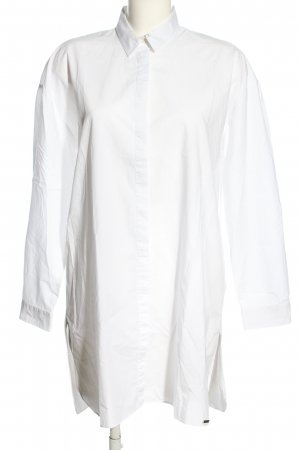 Woolrich Blusa larga blanco look casual