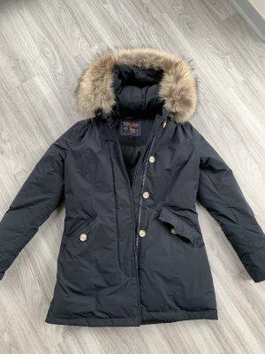 Woolrich Down Coat dark blue