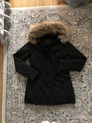 Woolrich Luxury Arctic parka schwarz Daunen Mantel Parka top Luxus