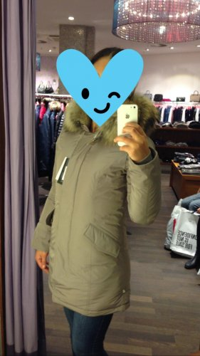 Woolrich Luxury Parka taupe