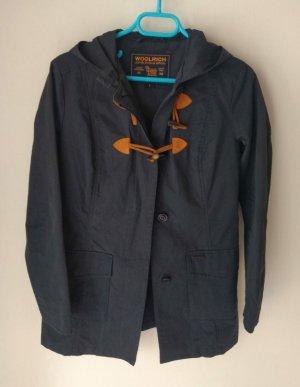 Woolrich Short Coat beige-dark blue