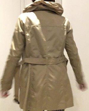 Woolrich Manteau court chameau-brun sable tissu mixte