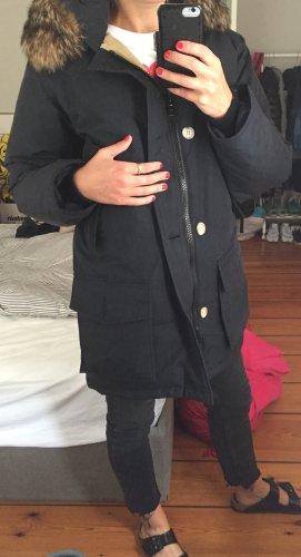 Woolrich Kurtka outdoor ciemnoniebieski