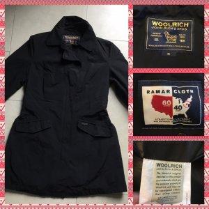 Woolrich Abrigo corto negro tejido mezclado