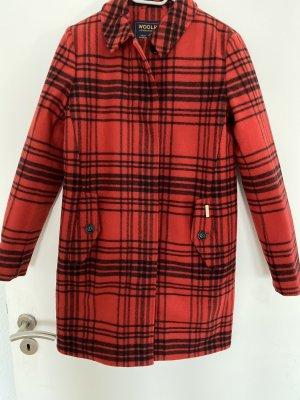 Woolrich Manteau d'hiver rouge-noir