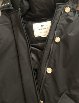 Woolrich Mantel schwarz