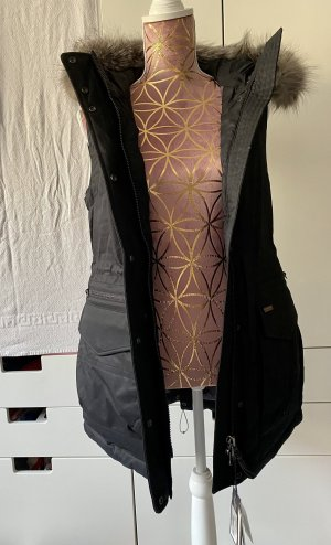 Woolrich Hooded Vest black