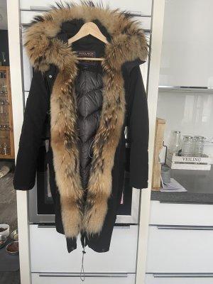 Woolrich Chaqueta cruzada negro