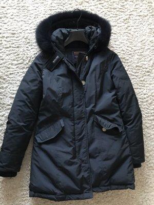 Woolrich Down Jacket dark blue