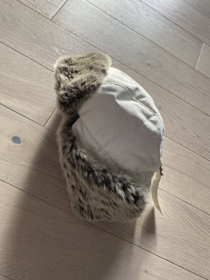 Woolrich Fur Hat cream