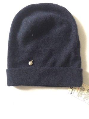 Woolrich Mütze blau NEU