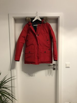 Woolrich Piumino lungo rosso