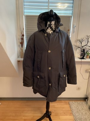 Woolrich Down Coat taupe-green grey