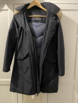 Woolrich Parka donkerblauw Polyester