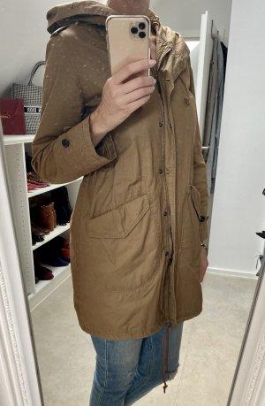 Woolrich Płaszcz przejściowy beżowy