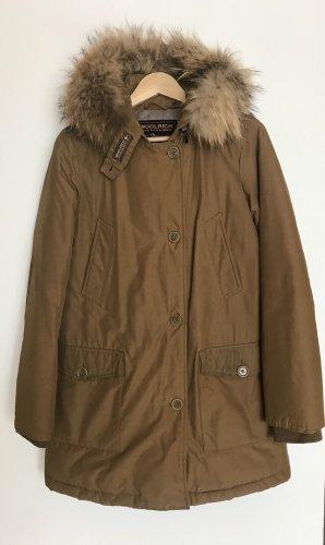 Woolrich Chaqueta de invierno color bronce-beige