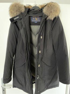 Woolrich Płaszcz zimowy czarny