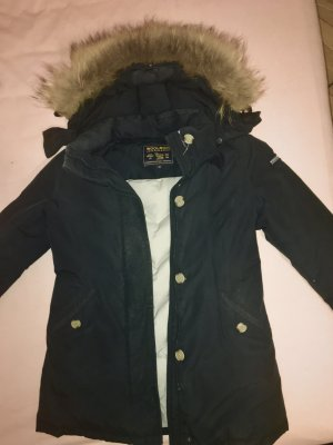 Woolrich Giacca invernale nero-blu