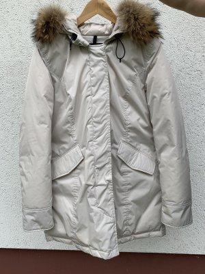 Woolrich Parka blanco-beige