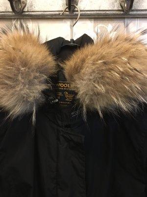 Woolrich Cappotto con cappuccio nero