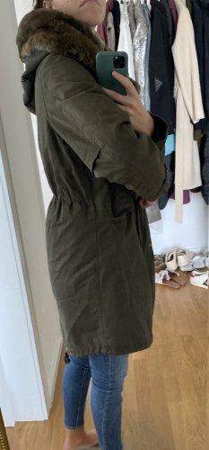 Woolrich Parka gris verdoso