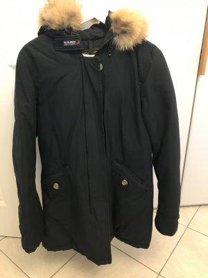 Woolrich Abrigo de invierno azul Piel