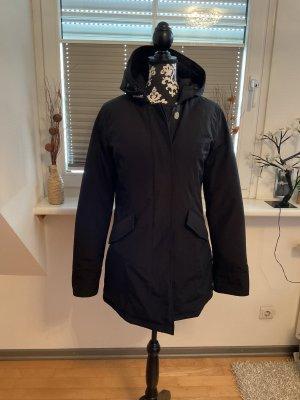 Woolrich Down Coat black cotton