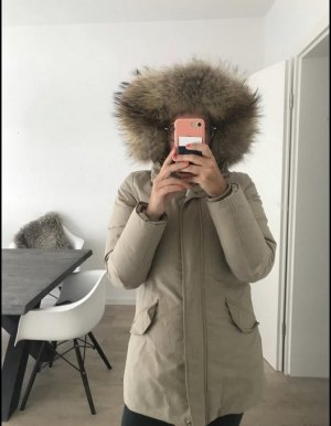 Woolrich Manteau en duvet beige clair