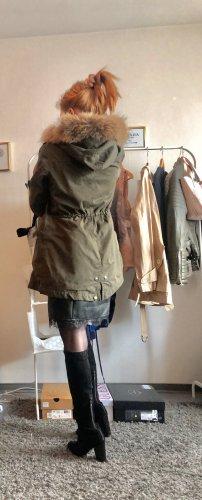 Woolrich Manteau de fourrure multicolore