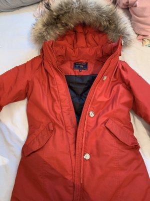 Woolrich Down Jacket red-brick red