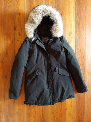 Woolrich Parka schwarz XL Winterjacke Mantel