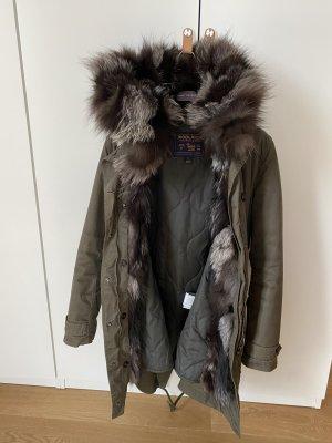 Woolrich Futrzany płaszcz Wielokolorowy