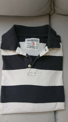 Woolrich Polo shirt donkerblauw-wit
