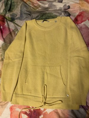 Woolrich Cashmere Jumper gold orange