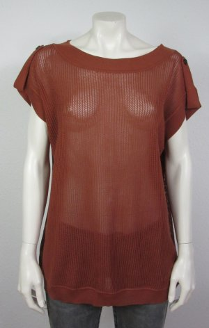 WOOLRICH Pullover Gr. XL rostrot
