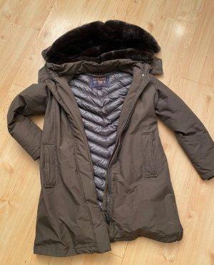 Woolrich Chaqueta de invierno marrón oscuro-caqui