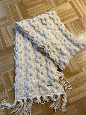 Woolrich Woolen Scarf natural white