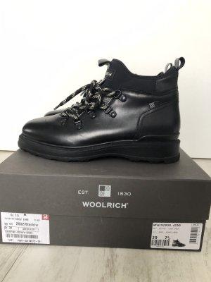 Woolrich Low boot noir cuir
