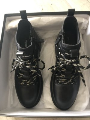 Woolrich Ankle Boots black leather