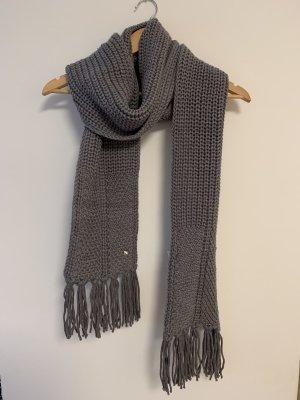 Woolrich Écharpe en laine gris laine
