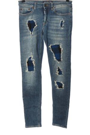 Woolrich Jeansy o obcisłym kroju niebieski W stylu casual