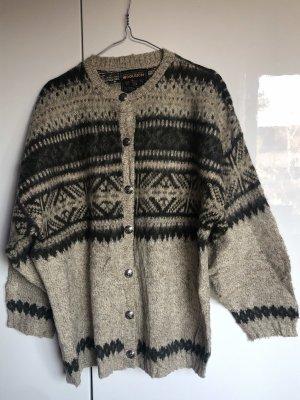Woolrich Kurtka z dzianiny szaro-brązowy-ciemnozielony