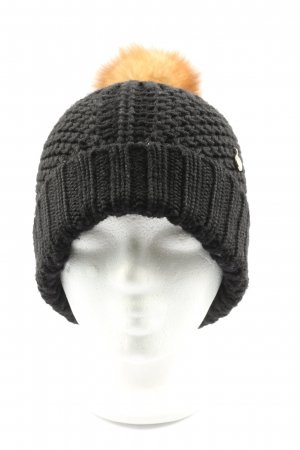 Woolrich Knitted Hat black-light orange casual look