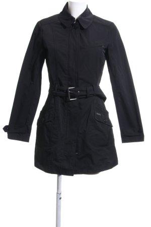 Woolrich Trenchcoat noir style décontracté