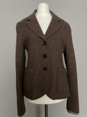 Woolrich Tweed blazer bruin Wol